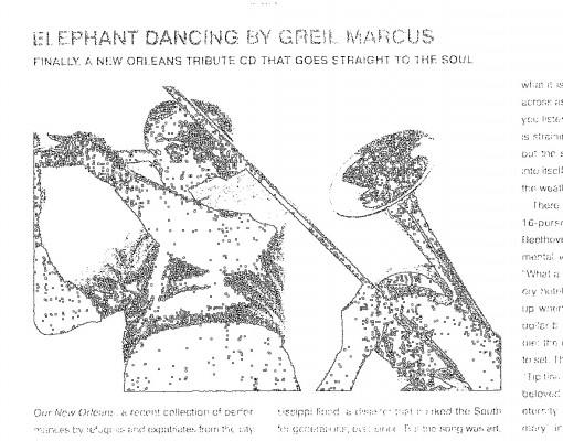 Elephant Dancing: 'Our New Orleans' (03/06)
