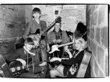 Go-Betweens, Maxwells, New Year's Eve, 1983/84, NJ � Laura Levine